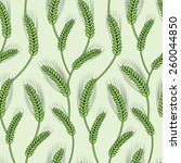 rice seamless pattern | Shutterstock .eps vector #260044850