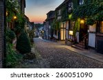 Nighttime On The Cobbles At...