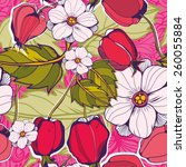 amazing vector pattern of... | Shutterstock .eps vector #260055884