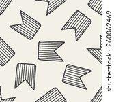 doodle rank seamless pattern...