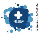 medical design  vector... | Shutterstock .eps vector #260067374