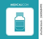 medical design  vector...   Shutterstock .eps vector #260068490