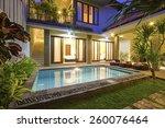 Tropical Villa. Bali Island....