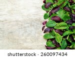 Mix Salad Romaine  Arugula ...