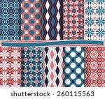 set of  abstract vector paper...   Shutterstock .eps vector #260115563