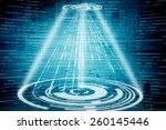 digital abstract business... | Shutterstock . vector #260145446