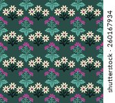 seamless pattern with... | Shutterstock .eps vector #260167934
