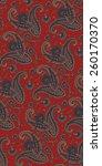 pattern paisley | Shutterstock .eps vector #260170370