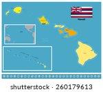 hawaii | Shutterstock .eps vector #260179613