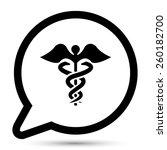 vector medical sign. file... | Shutterstock .eps vector #260182700