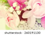 background of flowers. | Shutterstock . vector #260191130