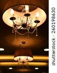 chandelier | Shutterstock . vector #260198630