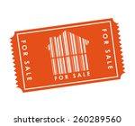 real estate design  vector... | Shutterstock .eps vector #260289560