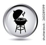grill fish  design  vector... | Shutterstock .eps vector #260289599
