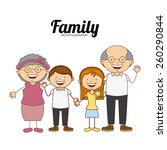 family love design  vector... | Shutterstock .eps vector #260290844