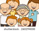 family love design  vector... | Shutterstock .eps vector #260294030