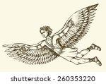 hellenic myth tale historic... | Shutterstock .eps vector #260353220