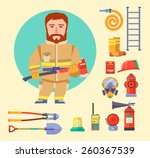 Firefighting Character And ...
