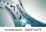 business consulting on the... | Shutterstock . vector #260371679