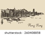 Hong Kong Skyline  Big City...
