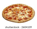 pepperoni pizza | Shutterstock . vector #2604109