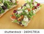 tofu sandwich    Shutterstock . vector #260417816