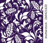 berry pattern | Shutterstock .eps vector #260421620