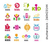 large collection of vector...   Shutterstock .eps vector #260423144