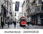 istanbul  turkey   november 28  ... | Shutterstock . vector #260442818