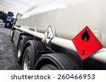 gasoline transporter | Shutterstock . vector #260466953
