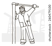 vector illustration of an... | Shutterstock .eps vector #260479100