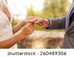 wedding decoration | Shutterstock . vector #260489306