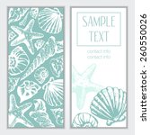 Vector Banner With Seashell