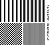 Vector Patterns Set Of Stripes...
