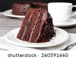 Delicious Chocolate Cake In...