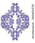 Embroidery Pattern Motif In...