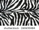 Zebra Texture With Beige White...