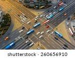Rush Hour Traffic Zips Through...