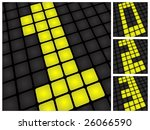 vector illustration of a table... | Shutterstock .eps vector #26066590