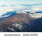 Kilimanjaro Mountain Plane View