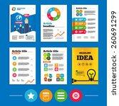 brochure or flyers design. star ...   Shutterstock .eps vector #260691299