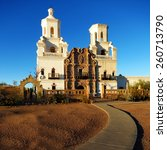 San Xavier Mission In Tucson...