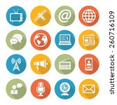 media icons | Shutterstock . vector #260716109