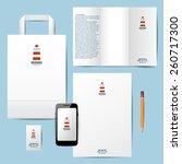 insurance company branding... | Shutterstock .eps vector #260717300