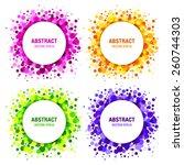 Set Of Bright Abstract Circles...