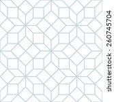 vector seamless soft white... | Shutterstock .eps vector #260745704