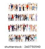teams over white united...   Shutterstock . vector #260750540