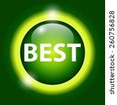 flat modern vector icon best.... | Shutterstock .eps vector #260756828