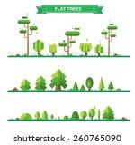 Set Of Different Trees  Rocks ...