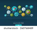 abstract medicine background... | Shutterstock .eps vector #260768489